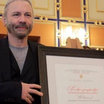 Το Σαράγεβο τίμησε τον Bruce Dickinson