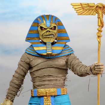 Iron Maiden's iconic mascot gets an Egyptian make over