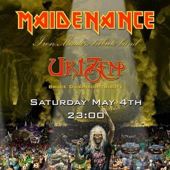 Iron Maiden the Greek FC και Maidenance στο Lazy 04/05/2019