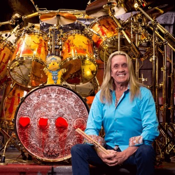 Drum store from Nicko McBrain in Manchester