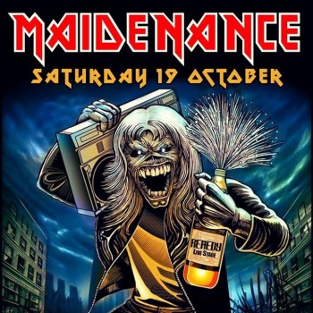 Iron Maiden the Greek FC και Maidenance στο Remedy 19/10/2019