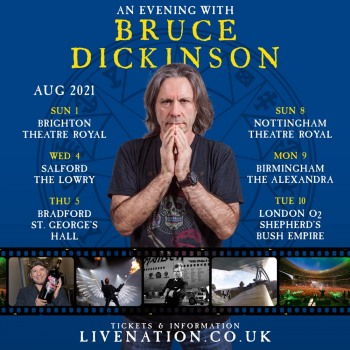 An Evening with Bruce Dickinson 2021