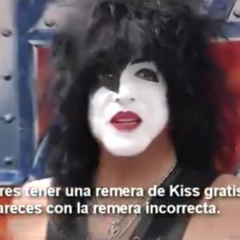 Οι KISS θίχτηκαν επειδή δημοσιογράφος σε συνέντευξη φορούσε μπλούζα Maiden