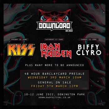 Οι Iron Maiden headline στο Download 2022