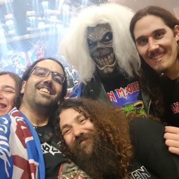 Το Iron Maiden the Greek FC στο Λονδίνο 11/08/2018