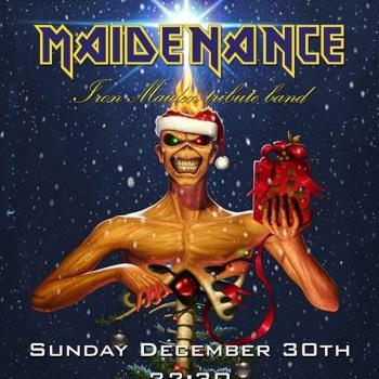 Iron Maiden the Greek FC και Maidenance στο Lazy 30/12/2018