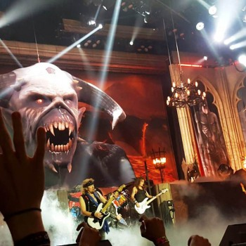 Το Iron Maiden the Greek FC στο Manchester 08/08/2018