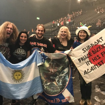 Το Iron Maiden the Greek FC στο Birmingham 07/08/2018