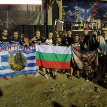 Το Iron Maiden the Greek FC στο Rockwave Festival 20/07/2018