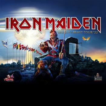 Οι Iron Maiden στην Ελλάδα 16/07/2022!