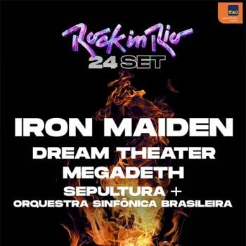 Οι Iron Maiden επιστρέφουν στο Rock In Rio