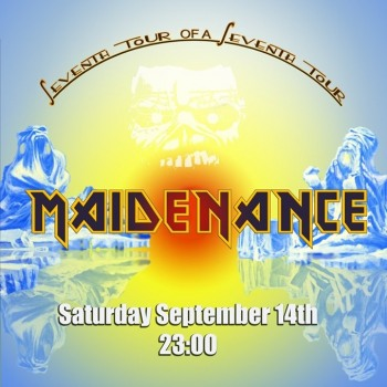 Iron Maiden the Greek FC and Maidenance at Lazy 14/10/2019
