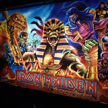 Hands on: Iron Maiden - Stern Pinball