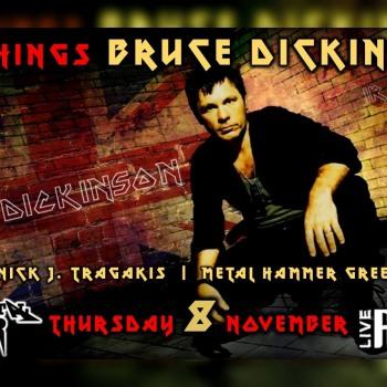 All Things Bruce Dickinson ★ On Decks: Nick J. Tragakis