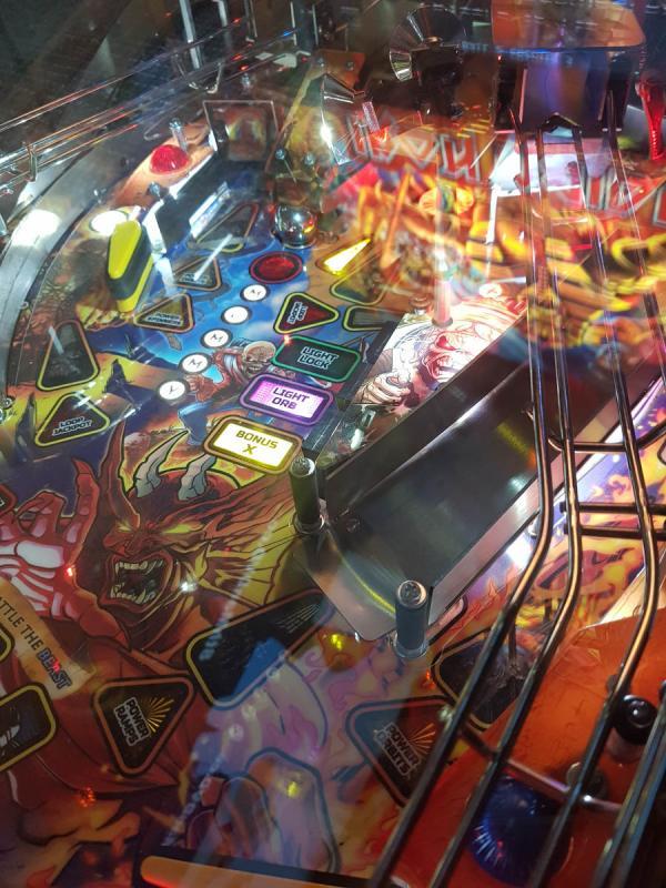 Hands on: Iron Maiden - Stern Pinball - ironmaidenfc gr