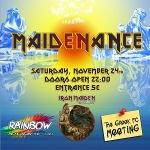 Fan Club Meeting και Maidenance Live στο Rainbow 24/11/2012