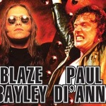 Blaze and DiAnno to join forces for tour of Australia